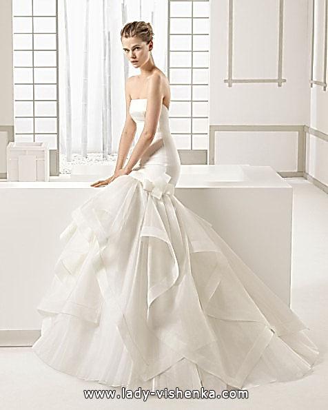 Meerjungfrau Brautkleid mit schleppe 28