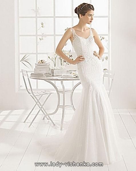 Meerjungfrau Brautkleid mit schleppe 40