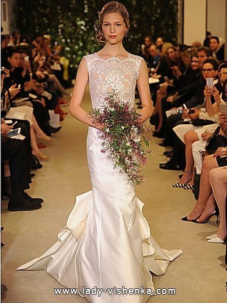 Meerjungfrau Brautkleid mit schleppe 41