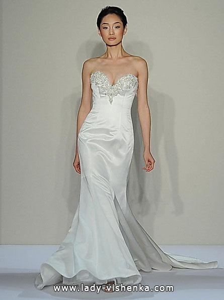 Meerjungfrau Brautkleid mit schleppe 45