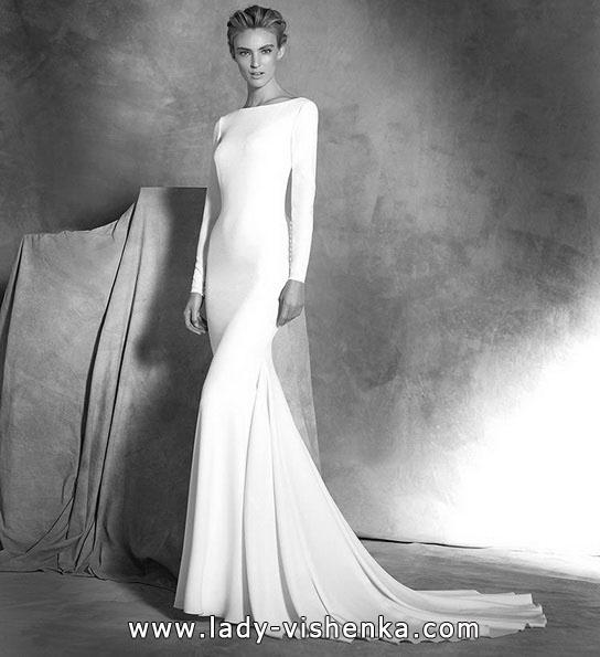 Meerjungfrau Brautkleid mit schleppe 47