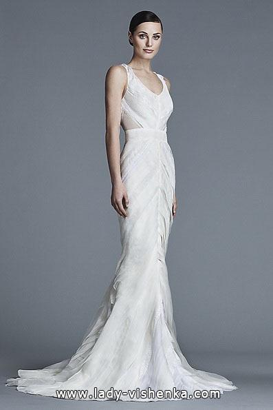Meerjungfrau Brautkleid mit schleppe 49