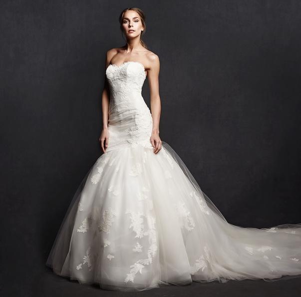 Meerjungfrau Brautkleid mit schleppe 50