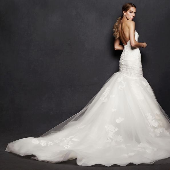 Meerjungfrau Brautkleid mit schleppe 51