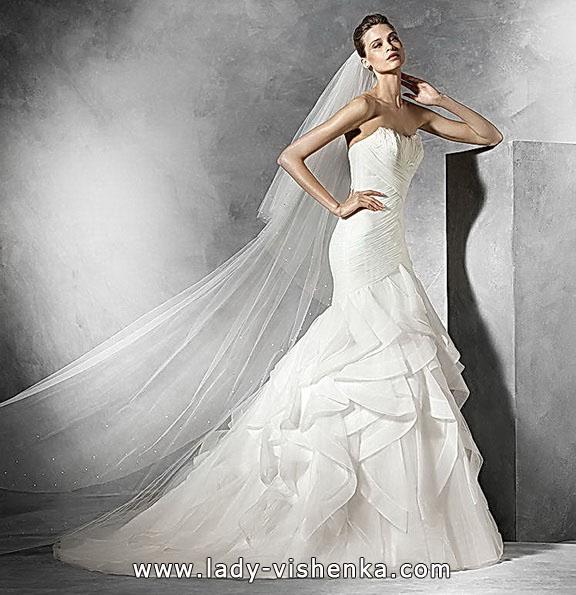 Meerjungfrau Brautkleid mit schleppe 52