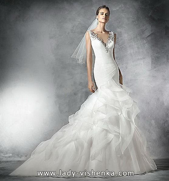 Meerjungfrau Brautkleid mit schleppe 57