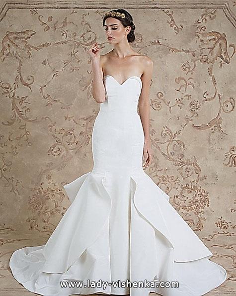 Meerjungfrau Brautkleid mit schleppe 58