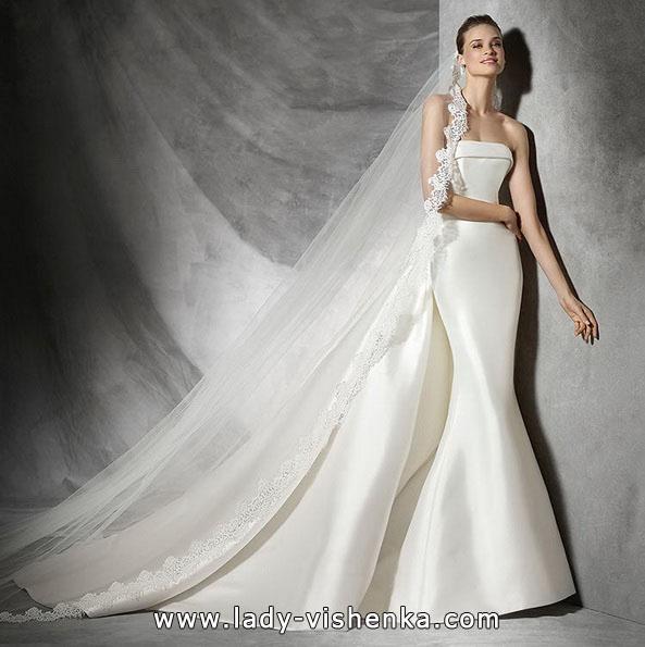 Meerjungfrau Brautkleid mit schleppe 61
