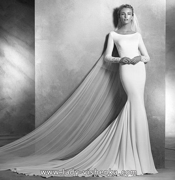 Meerjungfrau Brautkleid mit schleppe 62