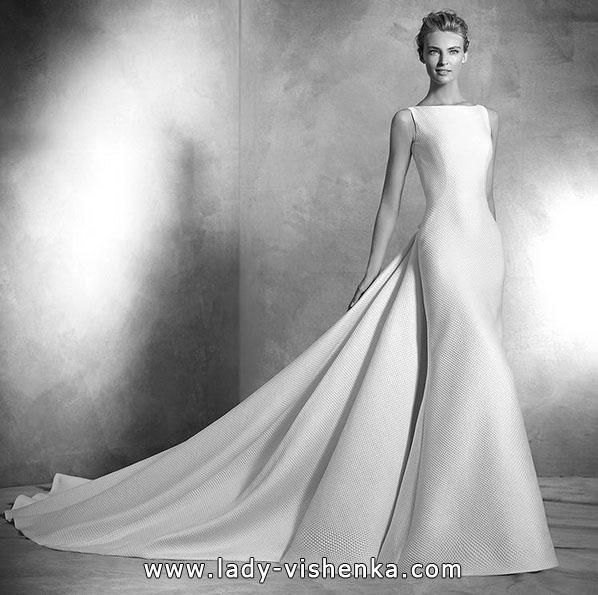 Meerjungfrau Brautkleid mit schleppe 65