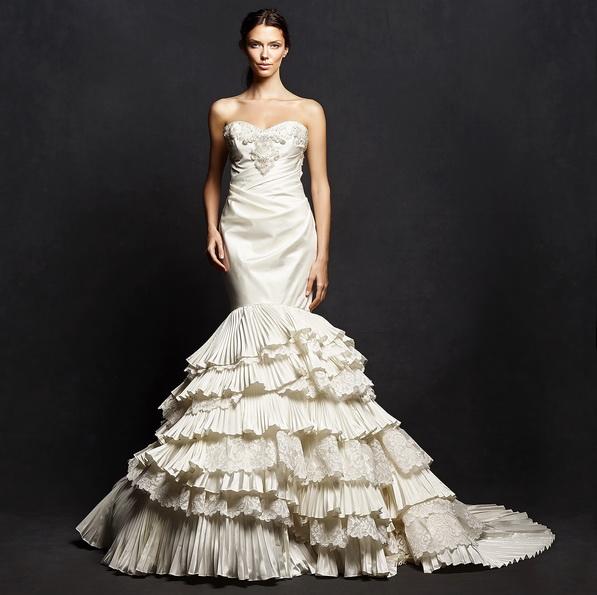 Meerjungfrau Brautkleid mit schleppe 31