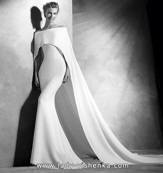 Meerjungfrau Brautkleid mit schleppe 67
