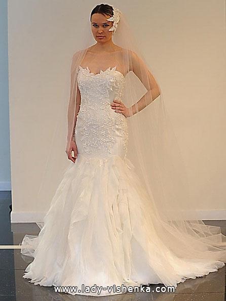 Meerjungfrau Brautkleid mit schleppe 72