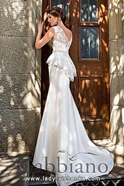 Meerjungfrau Brautkleid mit schleppe 74