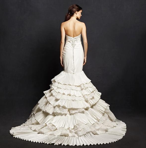 Meerjungfrau Brautkleid mit schleppe 32