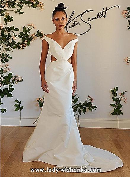 Meerjungfrau Brautkleid mit schleppe 36