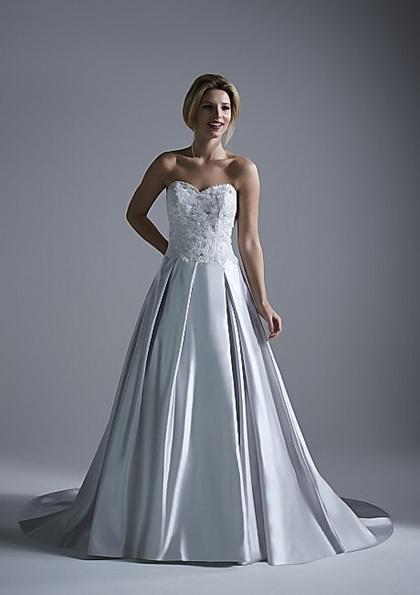 Hochzeits-Kleid mit Satinrock Opulence 2016
