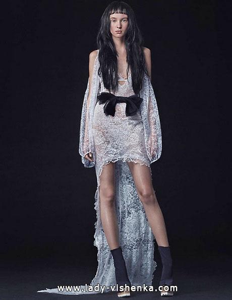 Hochzeitskleid vorne kurz Fotos Vera Wang