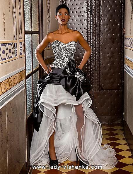 Hochzeitskleid vorne kurz - Jordi Dalmau