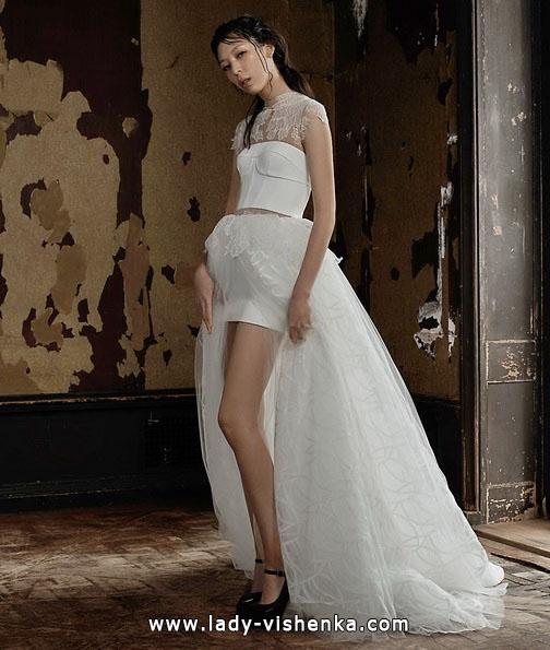 Hochzeitskleid vorne kurz - Vera Wang