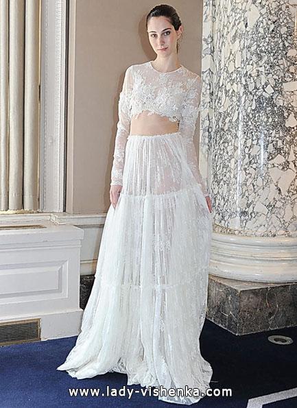 Brautkleider mit Spitzen ärmeln - Christos Costarellos