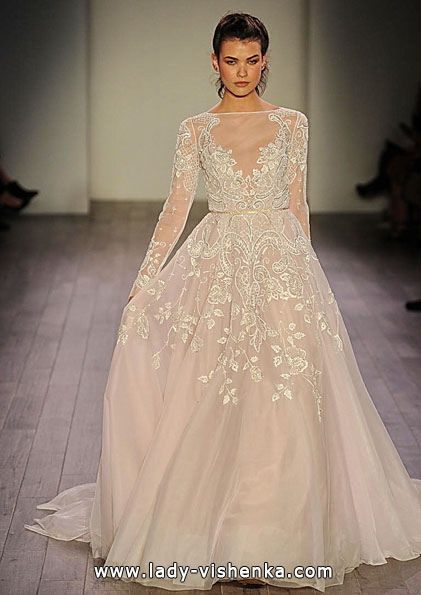 Brautkleider mit Spitzen ärmeln 2016 - Hayley Paige