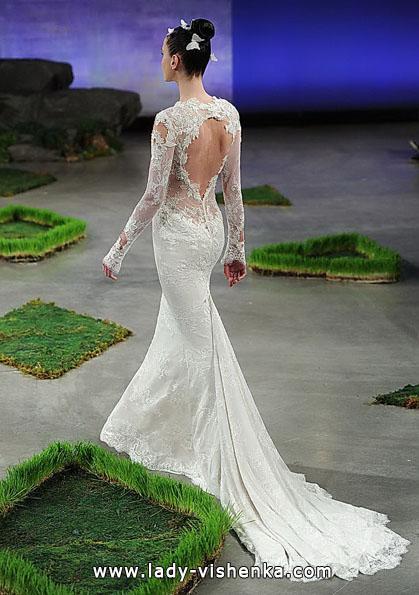 Brautkleider mit Spitzen ärmeln 2016 - Ines Di Santo