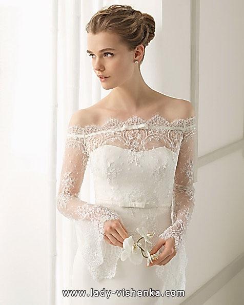 Brautkleider mit Spitzen ärmeln - Aire Barcelona