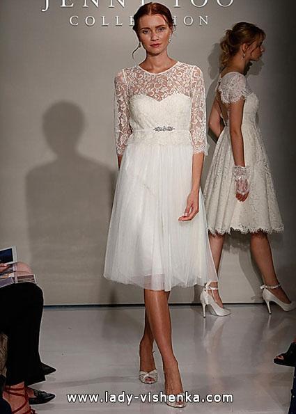 Brautkleider mit Spitzen ärmeln - Jenny Yoo