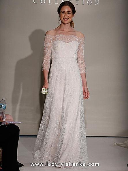 Brautkleider mit Spitzen ärmeln 2016 - Jenny Yoo