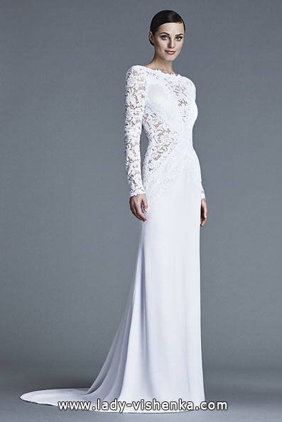 Brautkleider mit Spitzen ärmeln - J Mendel