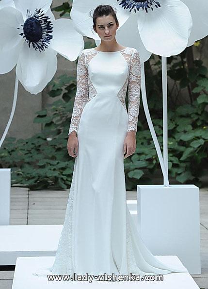 Brautkleider mit Spitzen ärmeln - Lela Rose