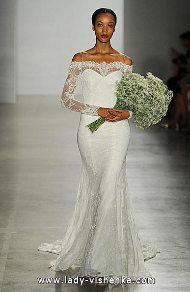 Brautkleider mit Spitzen ärmeln - Christos