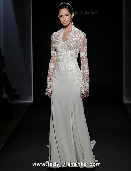 Brautkleider mit Spitzen ärmeln - Mark Zunino