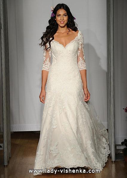 Brautkleider mit Spitzen ärmeln - Mori Lee