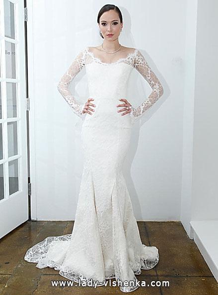 Brautkleider mit Spitzen ärmeln - Pamella Roland