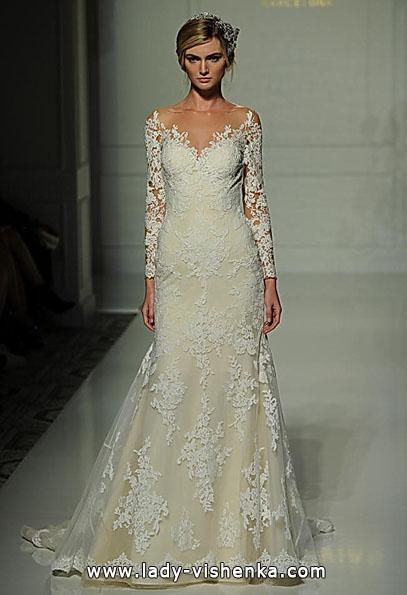 Brautkleider mit Spitzen ärmeln - die Pronovias