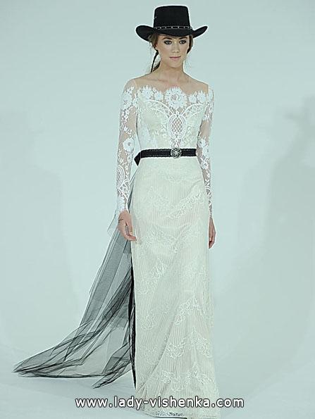 Brautkleider mit Spitzen ärmeln - Claire Pettibone