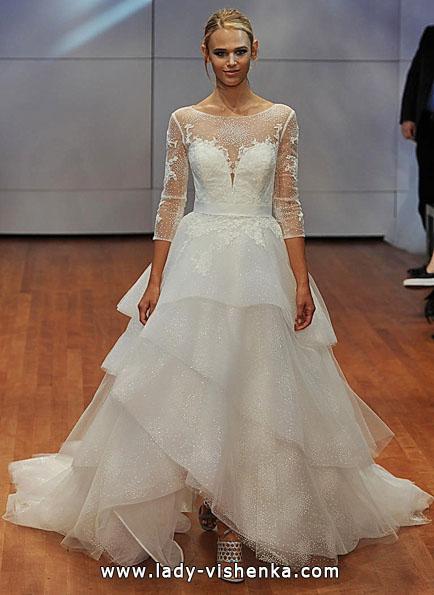 Brautkleider mit Spitzen ärmeln - Rita Vinieris