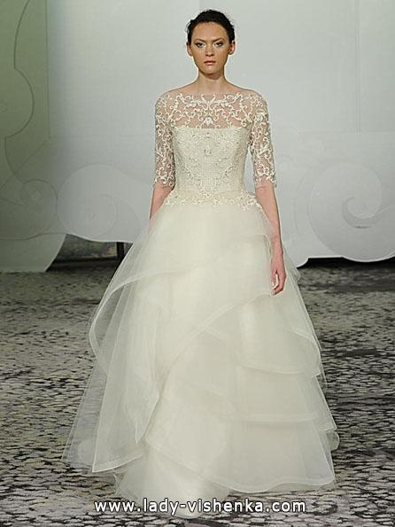 Brautkleider mit Spitzen ärmeln - Rivini