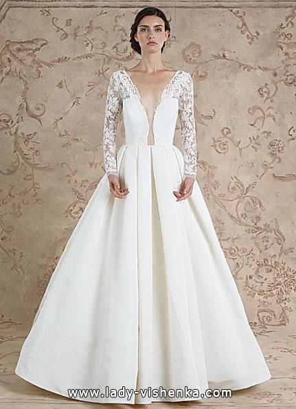 Brautkleider mit Spitzen ärmeln 2016 - Sareh Nouri