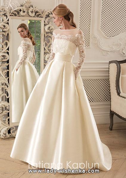 Brautkleider mit Spitzen ärmeln - Tatiana Kaplun