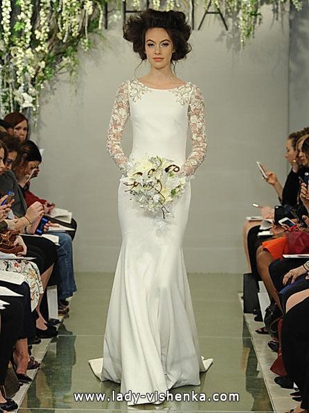 Brautkleider mit Spitzen ärmeln - Theia