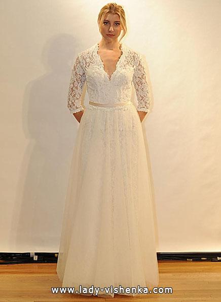 Brautkleider mit Spitzen ärmeln - Val Stefani