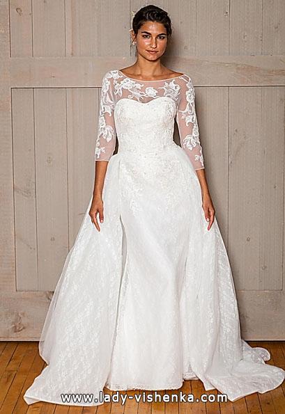 Brautkleider mit Spitzen ärmeln - David 's Bridal