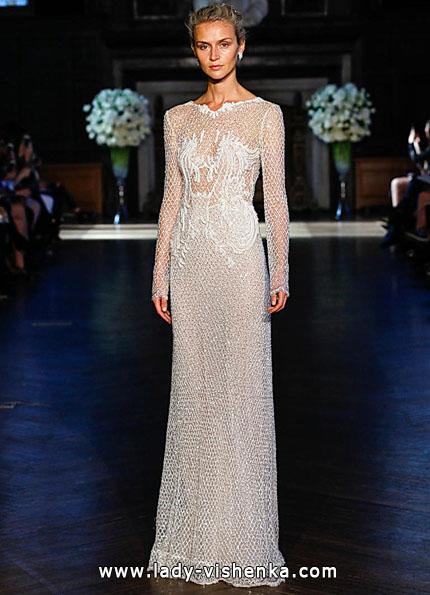 Brautkleider mit Spitzen ärmeln 2016 - Alon Livne