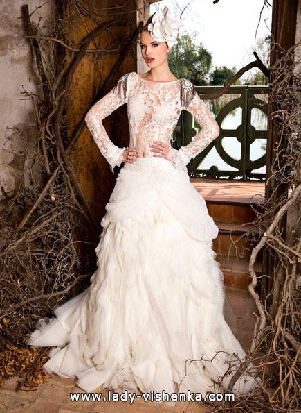 Brautkleider mit Spitzen ärmeln 2016 - Jordi Dalmau