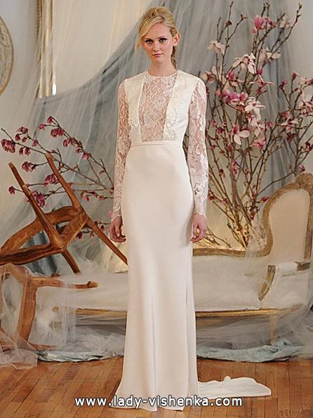 Brautkleider mit Spitzen ärmeln - Elizabeth Fillmore