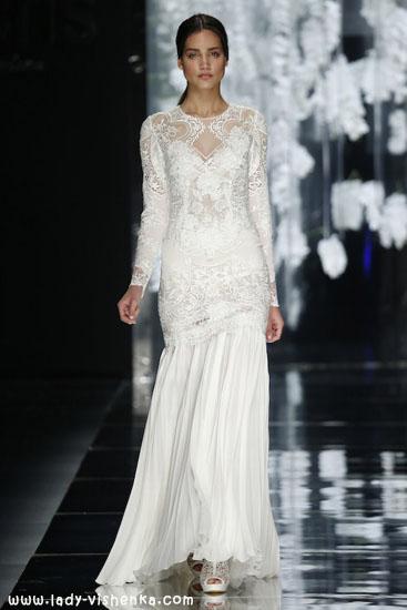 Brautkleider mit ärmeln Foto YolanCris