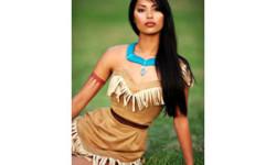 Pocahontas-Kostüm auf Halloween - 20 Ideen